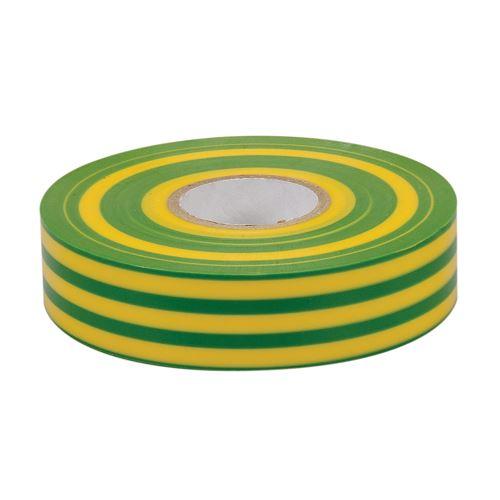 Ruban pvc pour isolation lectrique colle caoutchouc sur base pvc 19 mm x 33 m vert jaune - Comment enlever de la colle sur du pvc ...