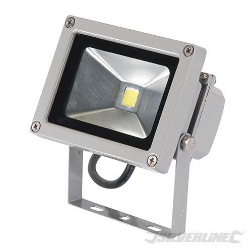 projecteur led 10 w lumi re d 39 ext rieur ip65 silverline