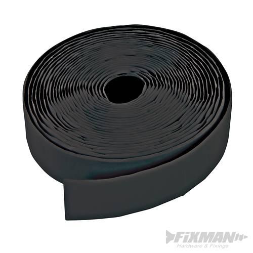 bobine de bandes auto agrippantes noires autocollantes en deux parties 50 mm x 5 m silverline. Black Bedroom Furniture Sets. Home Design Ideas