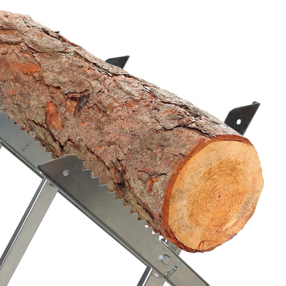 Chevalet de sciage pour b ches de bois de chauffauge for Chevalet pour buches bois