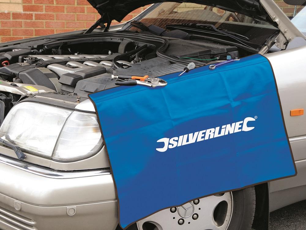couverture de protection magn u00e9tique pour carrosserie silverline 380102   outillage professionnel