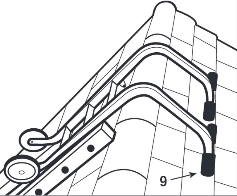 crochets de toiture pour fixation chelle 1015 mm. Black Bedroom Furniture Sets. Home Design Ideas