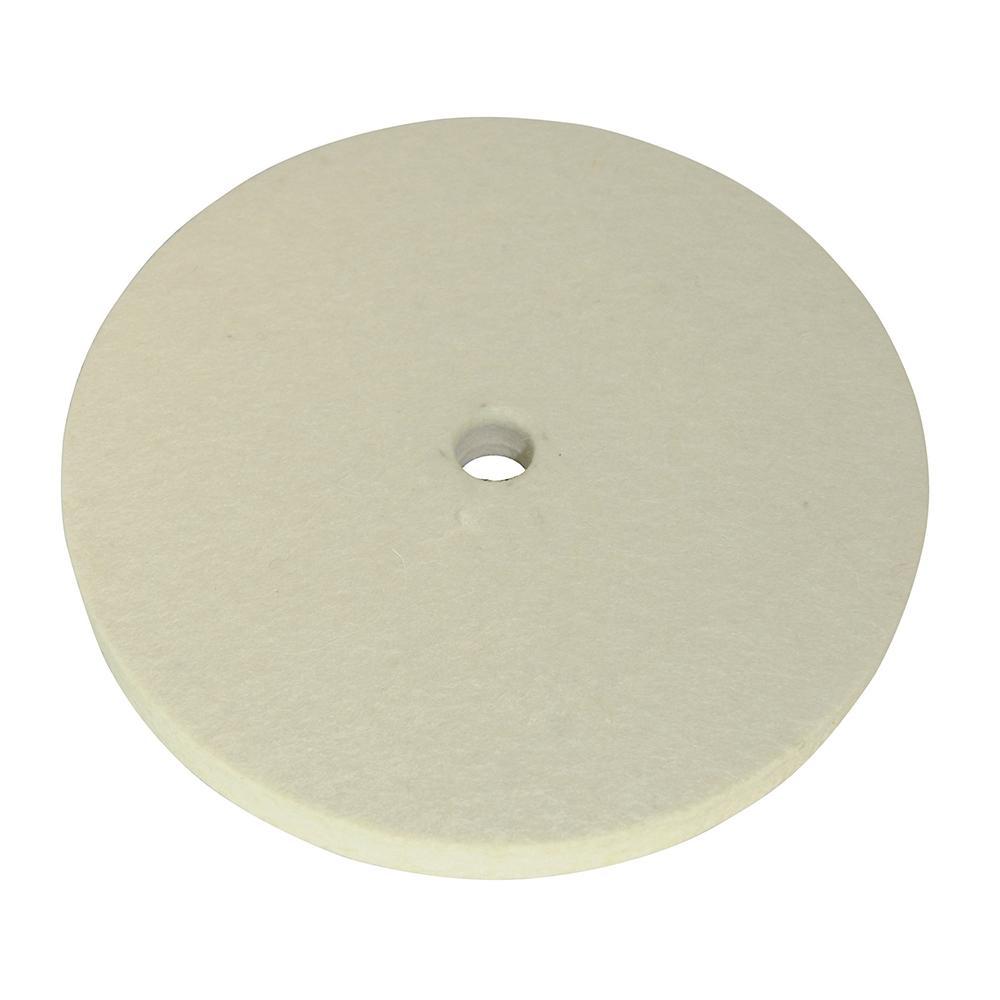 disque de polissage en feutre 150 mm pour touret meuler. Black Bedroom Furniture Sets. Home Design Ideas