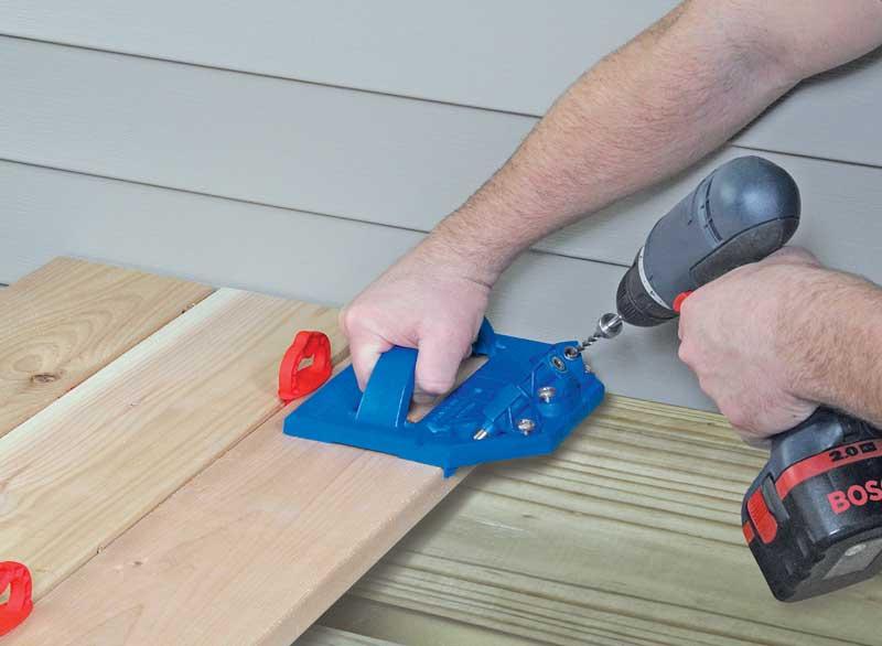mallette gabarit kreg deck jig pour pose de terrasse kreg 231030 outillage professionnel. Black Bedroom Furniture Sets. Home Design Ideas