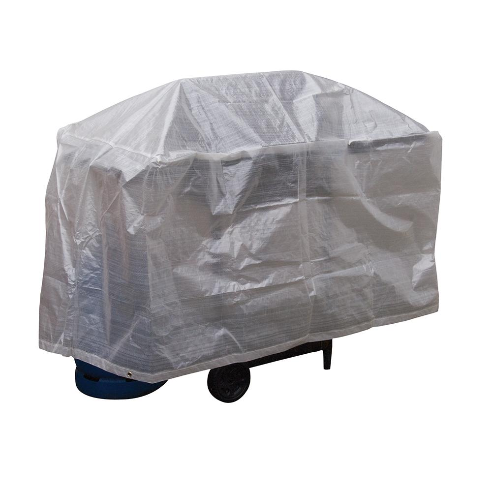 housse pour barbecue 122 x 71 x 71 cm silverline 204281 outillage professionnel discount et. Black Bedroom Furniture Sets. Home Design Ideas