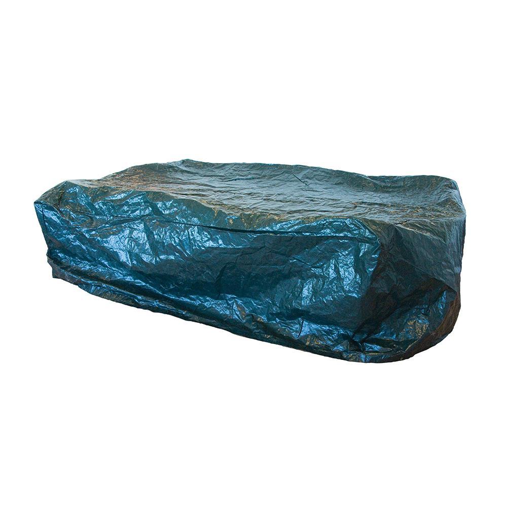 housse pour table rectangulaire 235 x 190 x 90 cm silverline 753583 outillage professionnel. Black Bedroom Furniture Sets. Home Design Ideas