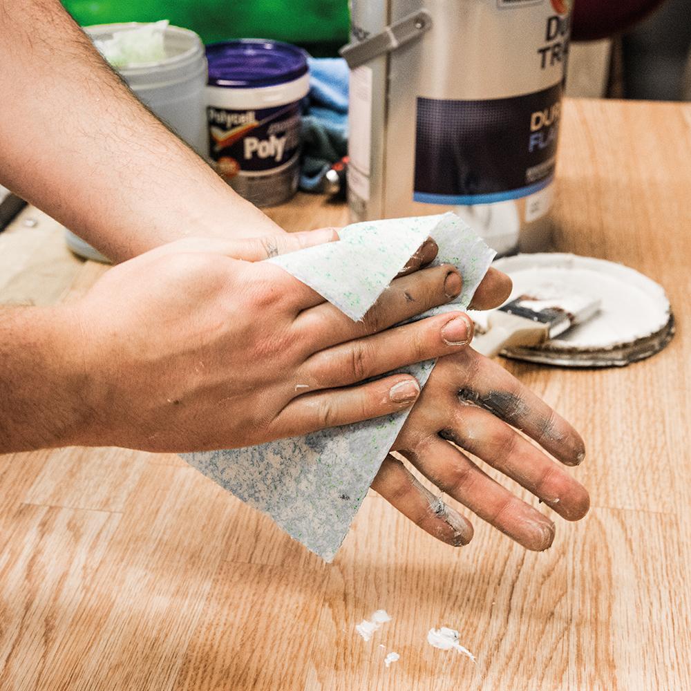 lingettes abrasives ultrar sistantes travaux intensifs 75 lingettes smaart 998146 outillage. Black Bedroom Furniture Sets. Home Design Ideas