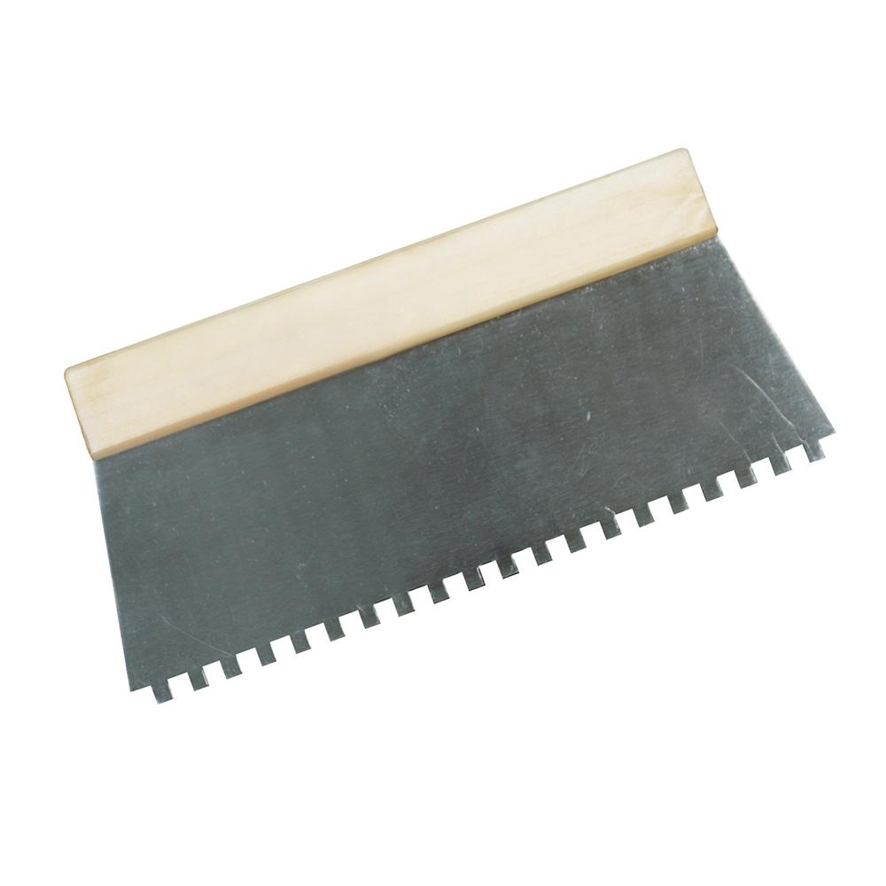 peigne colle avec dents de 6 mm silverline 515781 outillage professionnel discount et. Black Bedroom Furniture Sets. Home Design Ideas