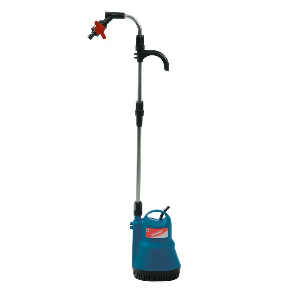 Pompe eau lectrique pour vider les tonneaux et f ts for Pompe a eau exterieur