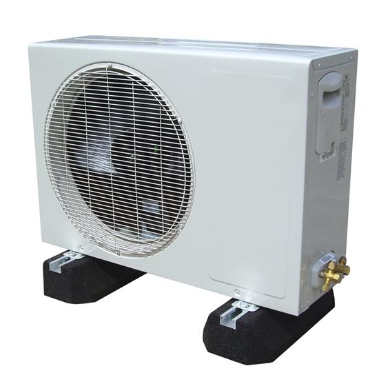 support au sol anti vibratile rubber foot 25 cm pour climatiseur groupe ext rieur fix it rf250. Black Bedroom Furniture Sets. Home Design Ideas