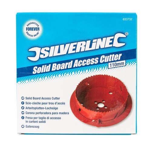 Scie cloche sp cial trou d 39 acc s 110 mm silverline 633732 outillage professionnel discount et - Scie cloche 150 mm ...