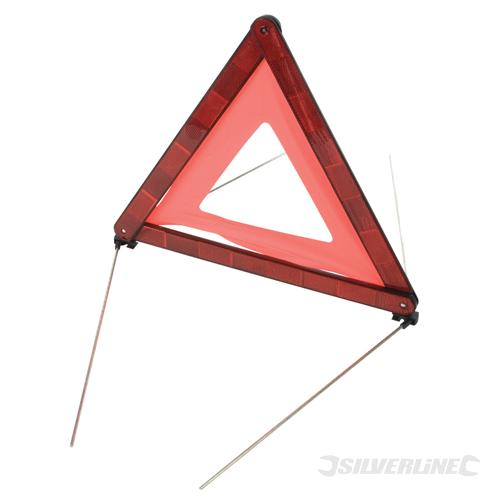 triangle de s curit pour automobile conforme ece 27 silverline 140958 outillage. Black Bedroom Furniture Sets. Home Design Ideas