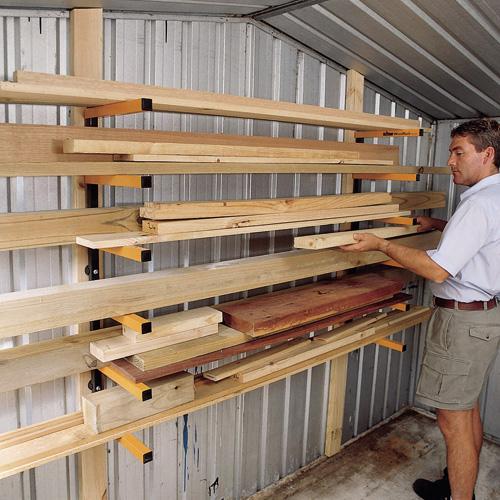 rack bois triton wra001 pour le rangement des objets longs dans l 39 atelier triton 330190. Black Bedroom Furniture Sets. Home Design Ideas