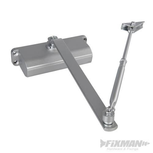 Ferme porte automatique force 5 80 100 kg fixman - Porte automatique poulailler pas cher ...