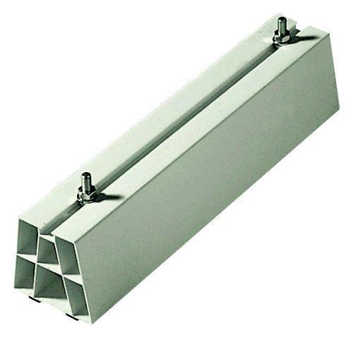 support de sol en pvc 350 mm avec visserie pour. Black Bedroom Furniture Sets. Home Design Ideas