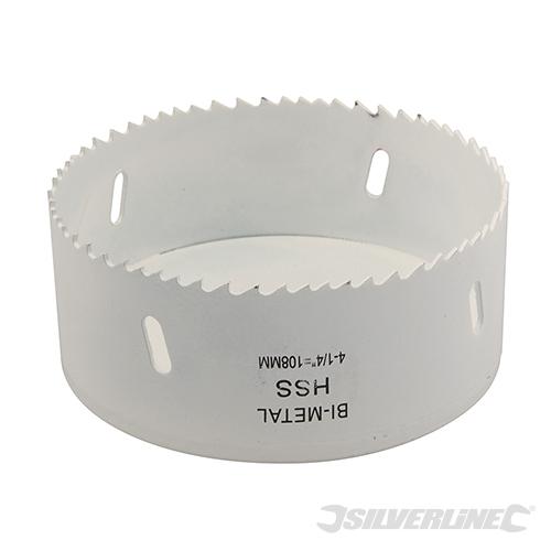 Scie cloche bi m tal acier tremp pour m tal inox bois aluminium 16 152 mm ebay - Scie cloche 150 mm ...