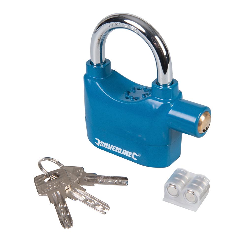 garage bateau protection suppl/émentaire pour v/élo moto s/écurit/é cl/ôture scooter Cadenas avec alarme pour cha/îne de v/élo dispositif antivol antivol anti-voleur.
