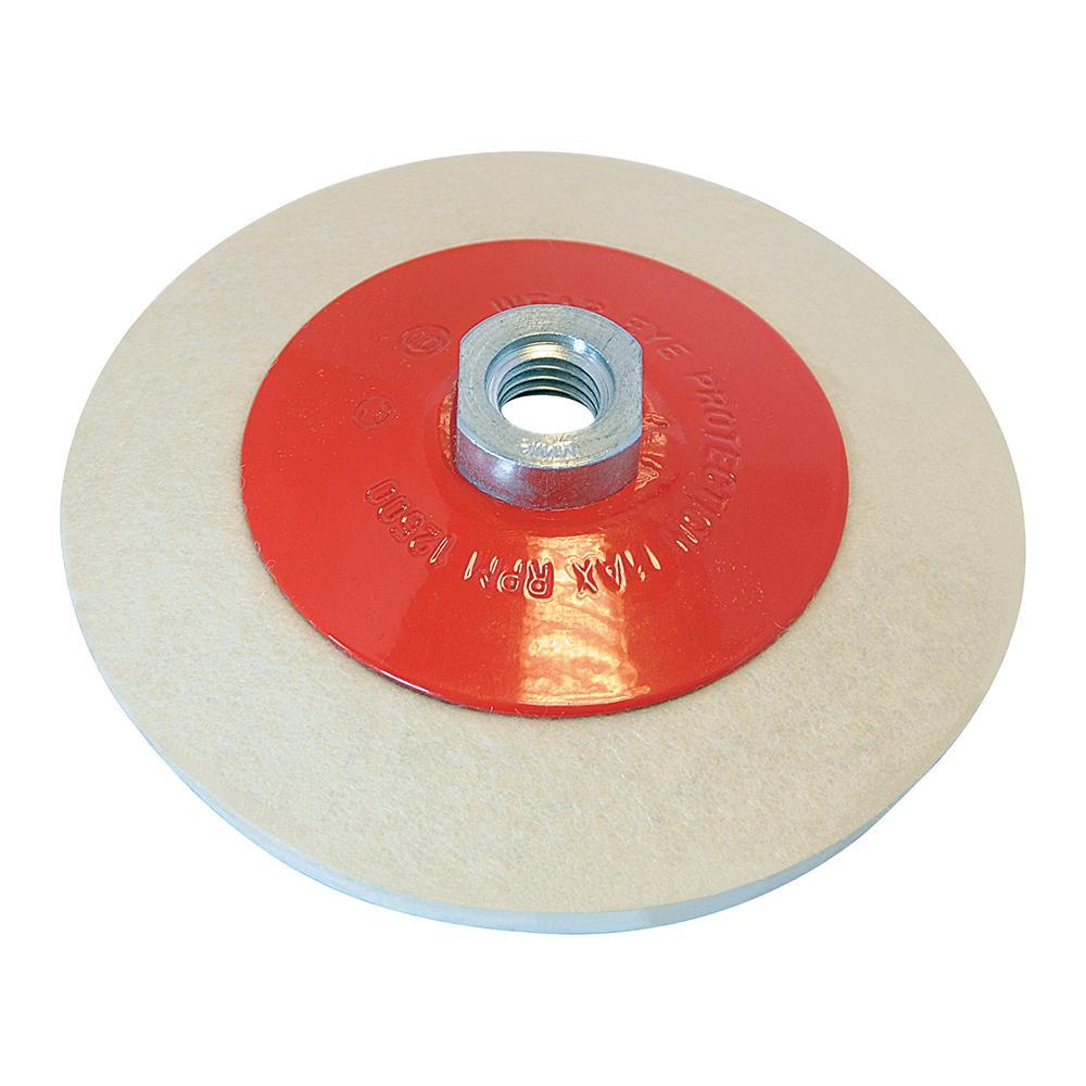disque lustrer en feutre 115 mm pour meuleuse silverline 105864 outillage professionnel. Black Bedroom Furniture Sets. Home Design Ideas