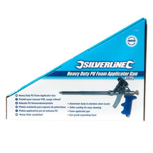 Silverline 719812 Pistolet pour mousse usage intensif 200 ml