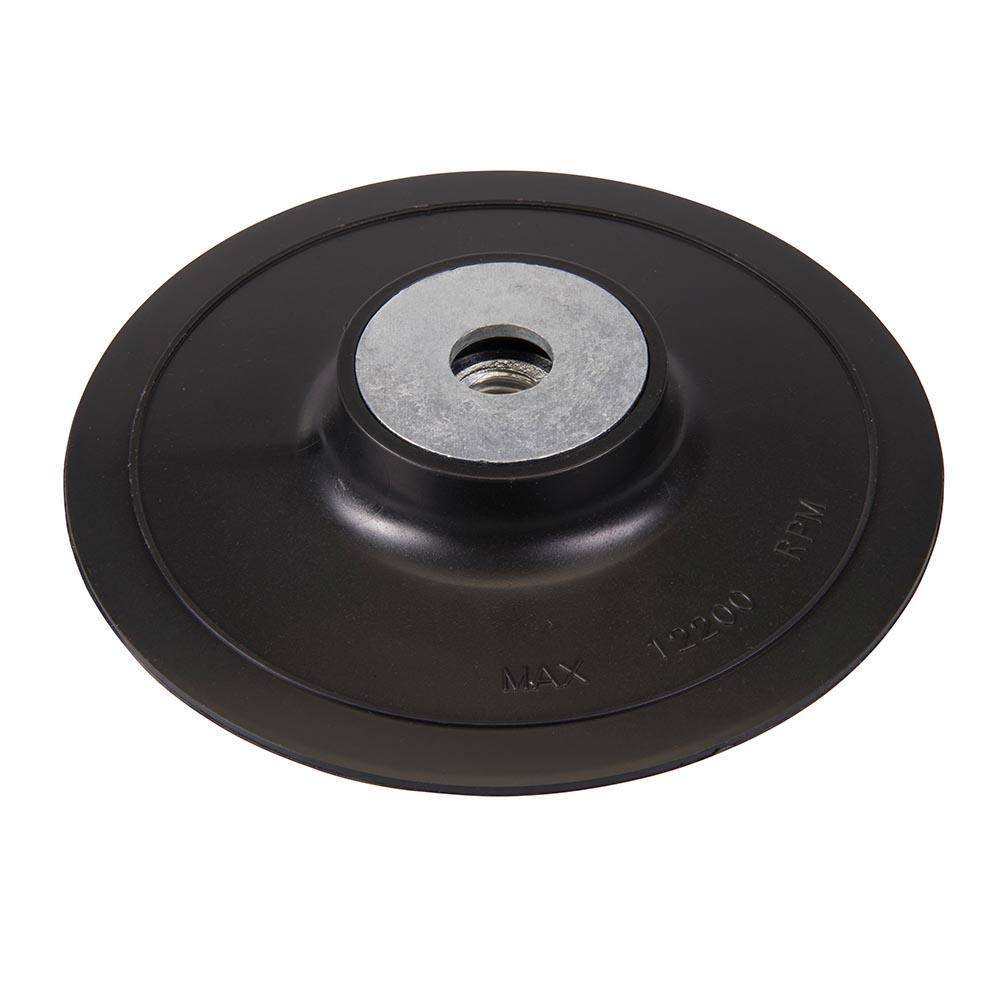 Plateau-support 125 mm pour disques de ponçage en fibres Silverline ... 2c25daba7ee9