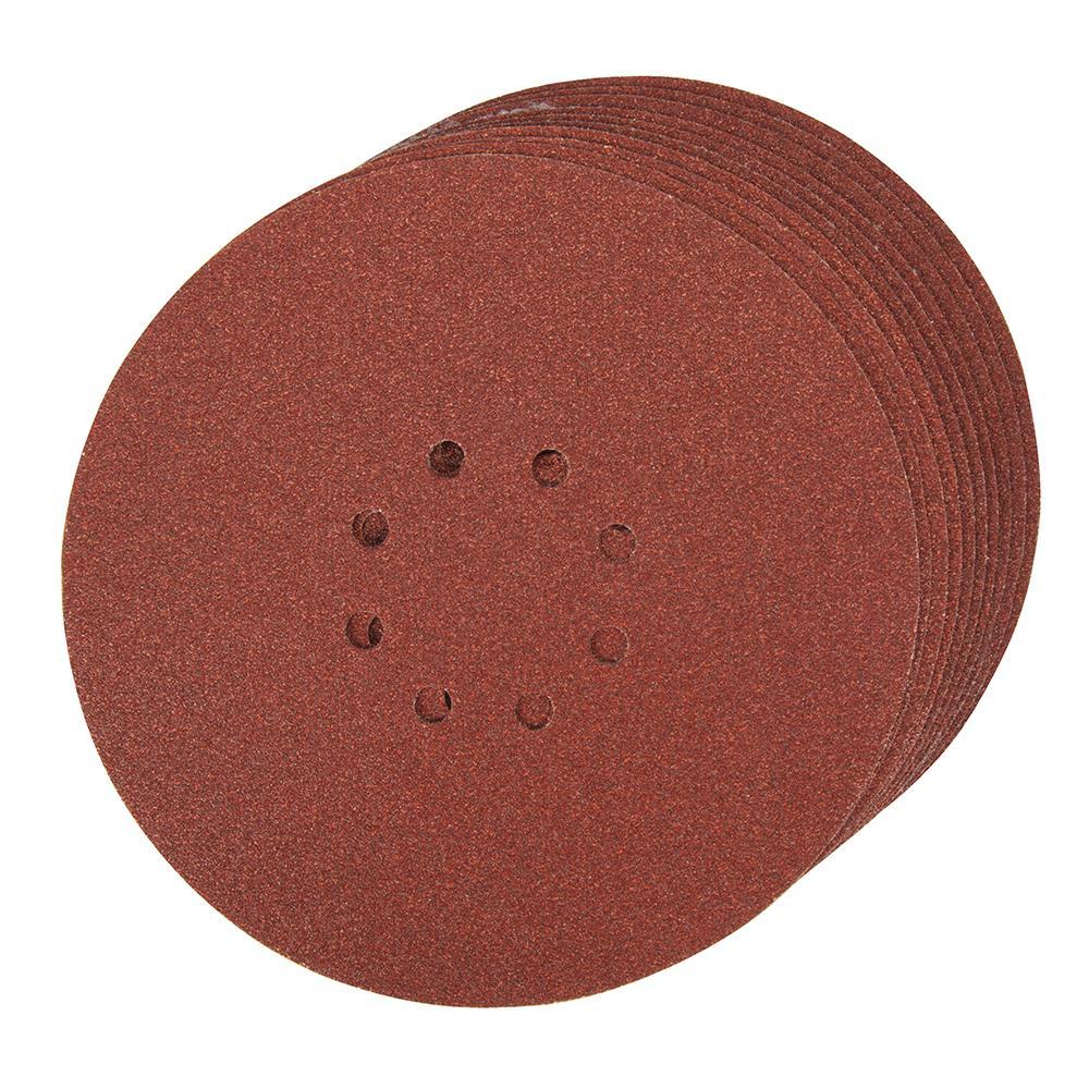 10 disques poncer papier de verre 225 mm grain 60. Black Bedroom Furniture Sets. Home Design Ideas