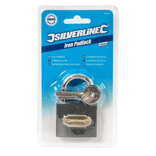 Silverline 923710 Aluminium Cadenas 50 mm